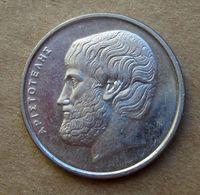 1988 GRECIA 5 Drachme - Aristotele - Circolata - Griechenland