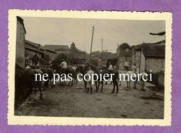 MAIZIERES LES JOINVILLE - Fontaine Abreuvoir De La Rue Du Haut Pré - Soldats Allemands Et Chevaux - TRES RARE - France