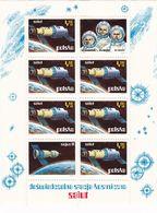 """Polen, 1973,  2255 Block 53,  MNH **,  Weltraumforschung. Versuchsstation """"Salut"""", Space Exploration. - Blocks & Sheetlets & Panes"""