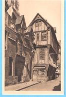 """Rouen (Seine Maritime)-+/-1930-Vieilles Maisons Dans La Rue Saint-Romain-collection """"La Douce France"""" - Rouen"""