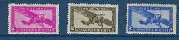 "Indochine Aerien YT 17 à 19 (PA) "" Avion En Vol "" 1941 Neuf** - Airmail"
