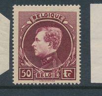 """BELGIUM """"MECHELEN"""" COB 291A LH - 1929-1941 Grand Montenez"""