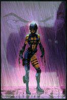 Fantaisie Erotique Chromium Card COMICS Erotic Fantasy  RAZOR Science Fiction Femme Armée Guerrière Armed Woman Warrior - Trading Cards