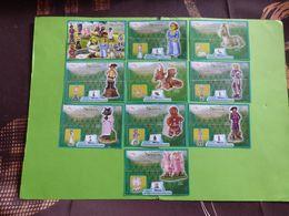 KINDER BPZ SERIE SHREK 3 EUROPE DE L'EST CANADA 2007 - Notices