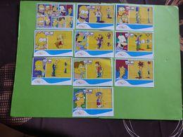 KINDER BPZ SERIE SIMPSONS TCHEQUIE ARGENTINE BELGIQUE MEXIQUE POLOGNE 2007 - Notices