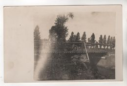9410, FOTO-AK, WK I,  Brücke über Den Laak In Werchter? Rotselaar,  Provinz Flämisch-Brabant , Belgien - Guerre 1914-18