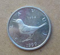 1999 CROAZIA 1 Kuna - Uccelli  - Circolata - Croatie