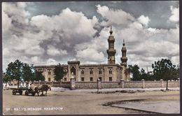 CPA Carte Photo - Soudan - Karthoum - Native Mosque - 1964 - Sudan