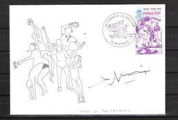 ENVELOPPE 29ème KERMESSE DU BOL D AIR 1979  / DÉDICACE De Jean GACHASSIN Rugby Français - Handtekening