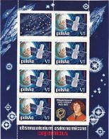 """Polen, 1973,  2256 Block 54,  MNH **,  Weltraumforschung. Weltraumteleskop """"Copernicus"""", Space Exploration. - Blocks & Sheetlets & Panes"""