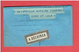 TELEGRAMME CHARTRES 27 SEPT. 1884 POUR MAINTRIEUX NOTAIRE EURE ET LOIR - Telegramas Y Teléfonos