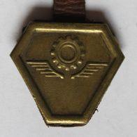 Rare Insigne Militaire WW2 CEFI Corps Expéditionnaire Français Italie Train Campagne D'Italie Guerre 39-45 - 1939-45