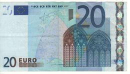 AUSTRIA    € 20   2nd Signature (Trichet)   N   -   F002E4 - EURO