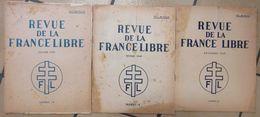 1949-1955 Ww2 Et Guerre D'Indochine 18 Revue De La France Libre 21x27 Cms Franco Pour France Métropole Indivisible - Magazines & Papers