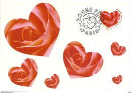MAXICARTE - Premier Jour Du 6.02.1999. Bonne Fête - Rose - Neuve. Y&T N° 3219 CP1.  Sous Blister. 1999. - Ganzsachen
