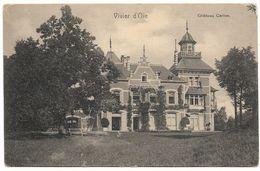 CPA PK  UCCLE  VIVIER D'OIE  CHATEAU CARLOO - België