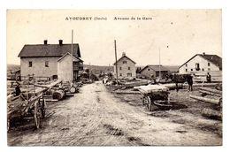 Avoudrey Avenue De La Gare - Frankrijk