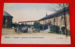 """NAMUR  -  Restaurant """" La Hampe Du Drapeau """"  - Citadelle - Namur"""