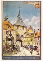 CPM 10325 Rosheim Hansi Mémoire D'un Mur Editions Clouet Chemins De Fer D'Alsace Et De Lorraine - Hansi