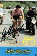 Merckx, Eddy 1945- Radrennfahrer - Autographs