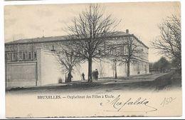 CPA PK   BRUXELLES  ORPHELINAT DES FILLES A UCCLE - Belgium