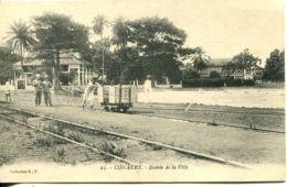N°1543 R -cpa Conakry -entrée De La Ville- - Guinée Française