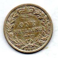 GREAT BRITAIN, 1 Shilling, Silver, Year 1885, KM #734.4 - I. 1 Shilling