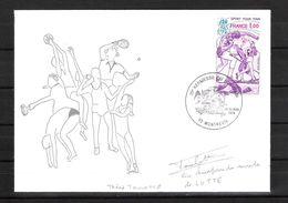 ENVELOPPE 29ème KERMESSE DU BOL D AIR 1979  /  DÉDICACE De Théodule TOULOTTE  Lutte Libre Et Gréco Romaine - Handtekening