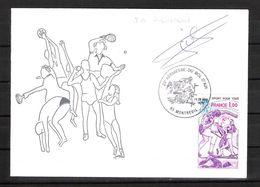 ENVELOPPE 29ème KERMESSE DU BOL D AIR 1979  /  DÉDICACE De  Jean-Baptiste PIEDVACHE Champion D Europe 1977 - Autografi