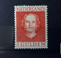 Timbre Pays-Bas : 1 Guilden 1949 N° 534 NEUF ** & - Period 1949-1980 (Juliana)