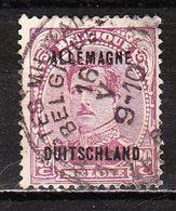 OC44  Timbre De 1915 Surchargé ALLEMAGNE - Bonne Valeur - Oblit. POSTES MILITAIRES 1 - LOOK!!!! - WW I