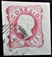 626 PORTUGAL SANTO TIRSO PEDRO V YVERT 12 - 1855-1858 : D.Pedro V