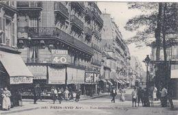 75 PARIS Rue Demours ,rue Guersant ,façade Poissonnerie Des Ternes - Arrondissement: 17