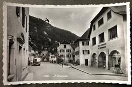 St. Ursanne Strasse/ Postauto Saurer - VD Vaud
