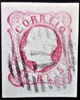 631 PORTUGAL PEÑAFIEL PEDRO V YVERT 12 - 1855-1858 : D.Pedro V