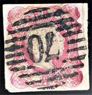 693 PORTUGAL PENAFIEL PEDRO V YVERT 12 - 1855-1858 : D.Pedro V