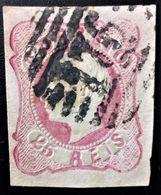698 PORTUGAL VILA REAL PEDRO V YVERT 12 - 1855-1858 : D.Pedro V