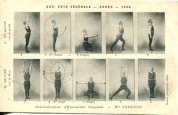 N°1552 R -cpa Fêtes Fédérales -Arras 1904- - Gimnasia