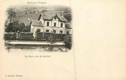 Bussang * La Grae , Vue De Derrière * Train Wagons * Ligne Chemin De Fer Vosges * Cpa Dos 1900 - Bussang
