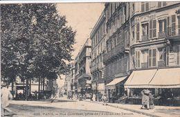 75 PARIS Rue Guersant ,prise De L'avenue Des Ternes - Arrondissement: 17