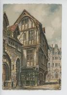 Rouen, La Rue Saint Romain  - Barday Illustrateur (gravure Aquarelle) Cp N°2018 Barre & Dayez - Barday