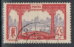 GABON N°60  Oblitération De CAP-LOPEZ - Gebraucht