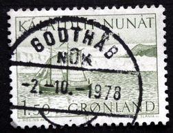 Greenland   1974   MiNr.87    GODTHÅB  (O) ( Lot D 1401 ) - Gebruikt