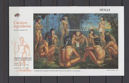 Venezuela 1998 Indian Chiefs S/s MNH - American Indians