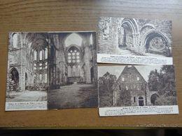 13 Cartes, Abbaye De Villers -> 11 Ne Pas écrit + 2 écrit - Villers-la-Ville