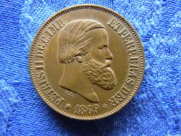 BRAZIL 20 REIS 1869, KM474 - Brésil