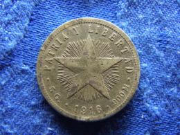 CUBA 20 CENTAVOS 1916, KM13.2 Corroded - Cuba