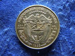 PANAMA 1/4 BALBOA 1953, KM19 - Panamá