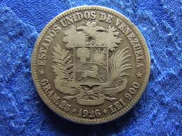 VENEZUELA 5 BALBOAS 1926, KM24.2 - Venezuela