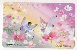 JAPON TELECARTE 105U BD MANGA De MOE NAGATA Auteur Et Illustrateur De Livres D'images - BD